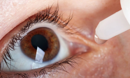 Las gotas para los ojos